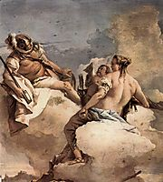 Mars, Venus and Cupid, 1757, domenicotiepolo