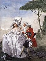 Minuet in Villa, c.1791, domenicotiepolo