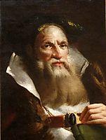 Portrait of an Oriental Philosopher, domenicotiepolo