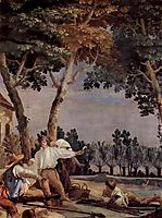 Rest of the farmers, 1757, domenicotiepolo