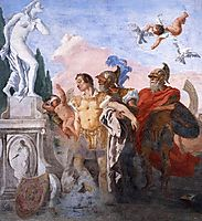 Rinaldo Leaving the Garden of Armida, c.1770, domenicotiepolo
