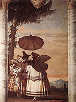 Summer Stroll, 1757, domenicotiepolo