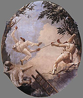 The Swing of Pulcinella , 1793, domenicotiepolo
