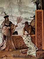 The Textile Merchant, from the Chinese Room in the Foresteria, 1757, domenicotiepolo