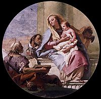 Virgin and Child with Saints, c.1759, domenicotiepolo
