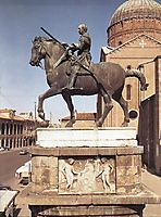Equestrian statue of Gattamelata at Padua, donatello