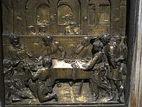 The Feast of Herod, 1427, donatello
