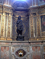 Statue of St. John the Baptist in the Duomo di Siena, donatello
