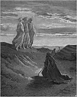 Abraham,God-and-two-angels.png, 1852, dore