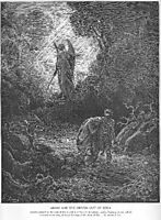 Adam and Eve Are Driven out of Eden, dore