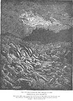 The Ammonite and Moabite Armies Are Destroyed, dore