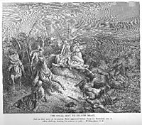 The Angel Is Sent to Deliver Israel, dore
