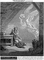 The Annunciation, dore