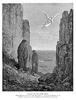 Ascent to the Fifth Circle, dore