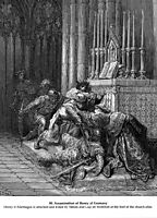 Assassination of Henry of Germany, dore
