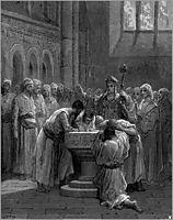 The Baptism of Infidels, dore