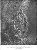 Baruch Writes Jeremiah-s Prophecies, dore
