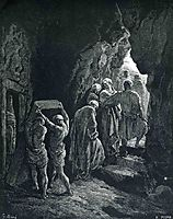 The Burial of Sarah, 1866, dore