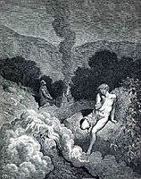 Cain and Abel Offering their Sacrifices, dore