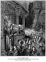 The Children-s Crusade in 1212, 1877, dore