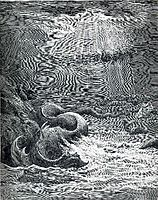 The Creation of Fish and Birds, c.1868, dore