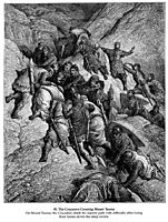 The Crusaders Crossing Mount Taurus, dore