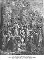 Cyrus Restoring the Vessels of the Temple, 1866, dore