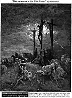 The Darkness At The Crucifixion, dore