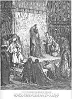 David Mourns the Death of Absalom, dore