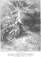The Death of Absalom, dore