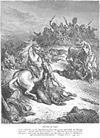 The Death of Saul, dore