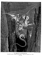 The Descent on The Monster, dore