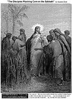 The Disciples Plucking Corn On The Sabbath, dore