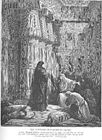 The Egyptians Ask Moses to Depart, dore
