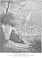 Elijah Is Nourished by an Angel, dore