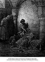 The Emperor Alexius IV Poisoned and Strangled by Mourzoufle, dore