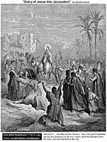 Entry Of Jesus Into Jerusalem, dore