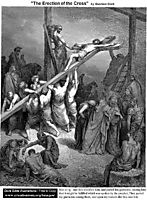 The Erection Of The Cross, dore