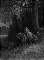 Geraint and Enid Ride Away, dore