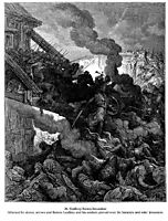 Godfrey enters Jerusalem, 1877, dore