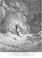 Hagar and Ishmael in the Wilderness, dore