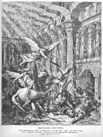 Heliodorus Is Cast Down, dore