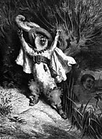 Help! The Marquis Of Carabas Is Drowning!, dore