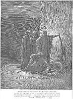Jehu-s Companions Find Jezebel-s Remains, dore