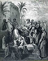 Jesus Blessing the Children, 1866, dore