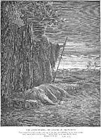 A Levite Finds a Woman-s Corpse, dore