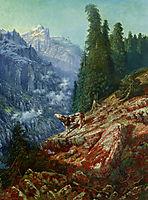 The Lost Cow, 1852, dore