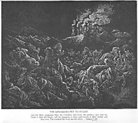 The Midianites Are Routed, dore