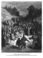 Peter the Hermit Preaching the Crusade, dore