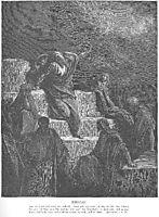 The Prophet Jeremiah, dore